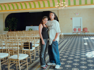 Young Couple at The Italian Club, 2008